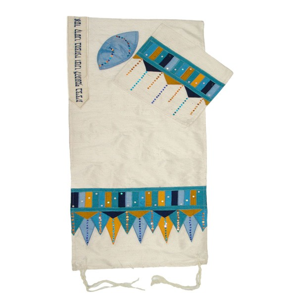 Elimelech Tallits Morrocan Marakesh Silk Tallit